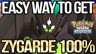 How to Get 100% Zygarde Complete Forme in Sun and Moon | Austin John Plays