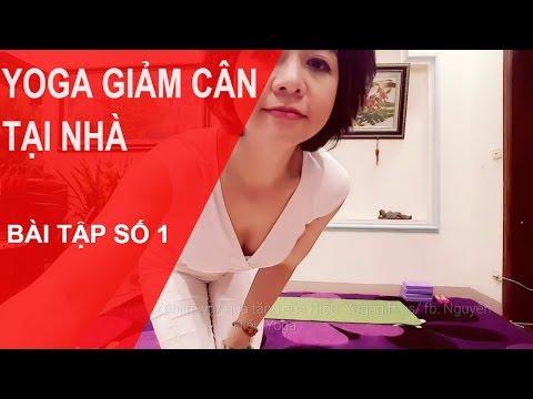 Yoga giảm cân tại nhà - Bài tập số 1 cùng chuyên gia Nguyễn Hiếu Yoga (Yoga For Weight Loss)