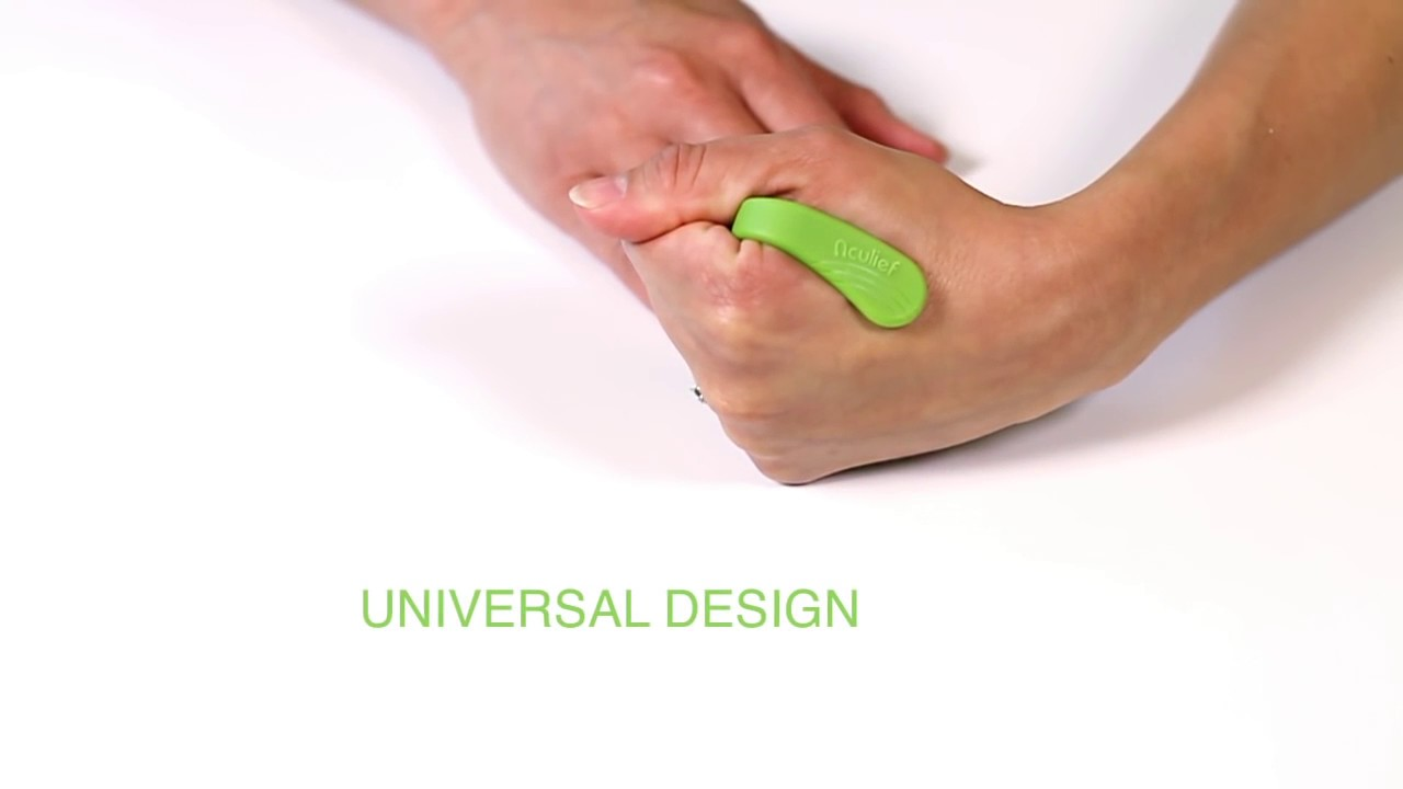 Aculief // Wearable Acupressure (Green) video thumbnail