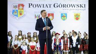Spotkanie z mieszkańcami powiatu górowskiego