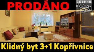 Zděný byt 3+1 DV 74 m2 Kopřivnice - PRODÁNO