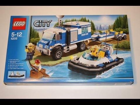 Vidéo LEGO City 4205 : Le centre de commande tout-terrain