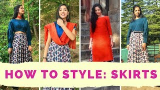 Long Maxi Skirt | 6 Different Styles