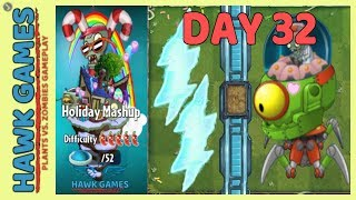 plants vs zombies holiday mashup - Video hài mới full hd hay nhất