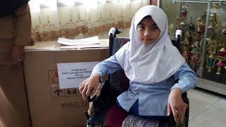 Viral Berita Bulan Tulis Surat ke Jokowi, Ternyata Artis Ini Diam-diam Kirimkan Kursi Roda Untuknya