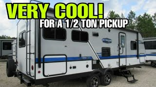 Half Ton Towable Travel Trailer with a GREAT floorplan!