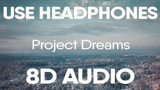 Marshmello, Roddy Ricch – Project Dreams (8D AUDIO)