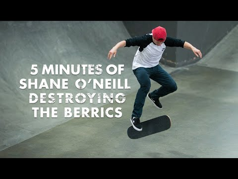 5 Minutes Of Shane O'Neill Destroying The Berrics