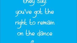 I Feel Like Dancing - All Time Low (lyrics onscreen) [HQ]