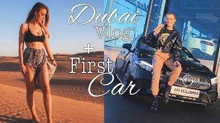 DUBAI VLOG + BUYING MY FIRST CAR!