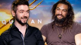 """I got to interview Jason Momoa for Aquaman!  Playing Deadpool With Ryan Reynolds ►https://www.youtube.com/watch?v=oMCijY1XGlQ  Become a Sponsor: https://youtube.com/jacksepticeye/join  ►Twitter : https://twitter.com/Jack_Septic_Eye ►Instagram: http://instagram.com/jacksepticeye ►Merchandise: http://jacksepticeye.com/  Edited by Pixlpit: https://www.youtube.com/channel/UCHsjBlPYou_k7FgMKLCo5JA  Outro animation created by Pixlpit: https://www.youtube.com/user/pixlpit  Outro Song created by """"Teknoaxe"""". It's called """"I'm everywhere"""" and you can listen to it here http://www.youtube.com/watch?v=JPtNBwMIQ9Q  #jacksepticeye #Aquaman"""