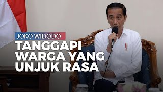 Warga Natuna Demo karena Dijadikan Tempat Karantina, Jokowi: 281 WNI Itu Sehat