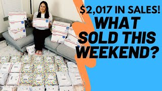 I made $2,017 over the weekend as a full time reseller on Poshmark, Ebay, Mercari! What sold? EP. 4