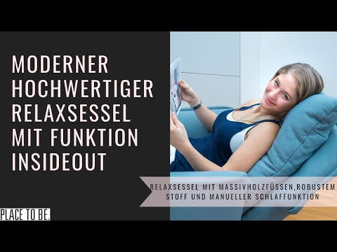 Relaxsessel mit Schlaffunktion | place to be!