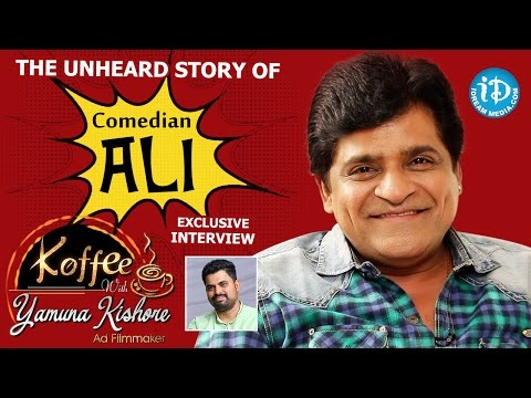 The Unheard Story Of Comedian Ali || Exclusive Interview || Koffee With Yamuna Kishore #15