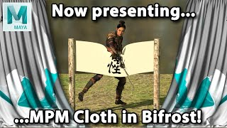 Getting Started With Mpm Cloth In Bifrost