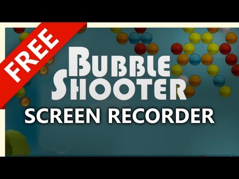 Make a Bubble Shooter Screen Recording