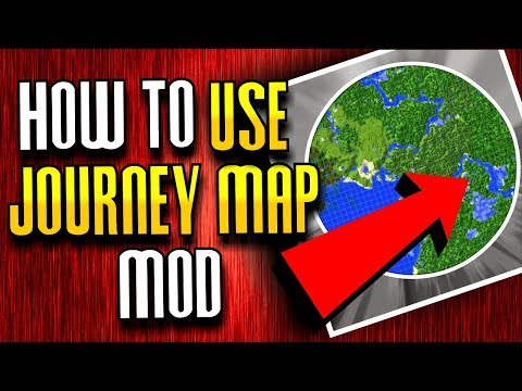 JOURNEY MAP MOD - Minecraft 1.12.2 MOD SHOWCASE MONDAY