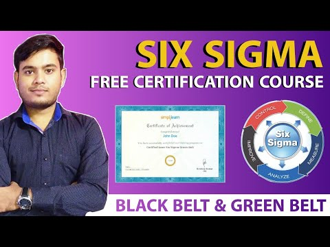 Six Sigma Free Certification Course|| Management Free Certification Courses||Free Certification 2021