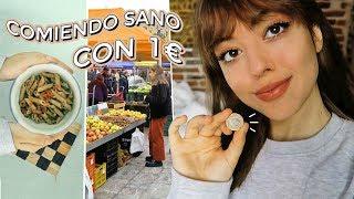 Comiendo sano con 1 EURO! (realfood, vegano y zero waste)