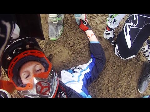 Brutal Motocross Crashes & Funny Dirt Bike Fails 2016