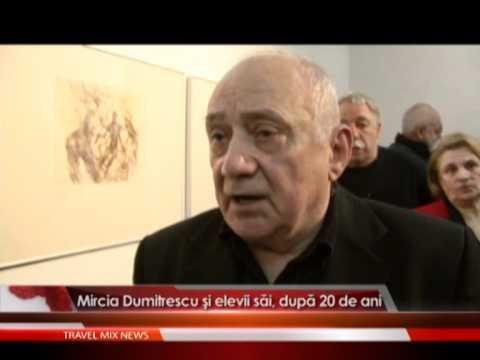 Mircia Dumitrescu şi elevii săi, după 20 de ani
