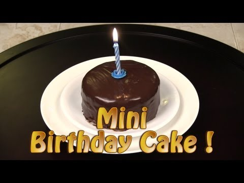 Video How To Make A Mini Chocolate Birthday Cake