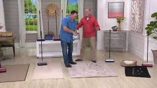 Bissell Set of 2 Lightweight Manual Floor Sweepers on QVC