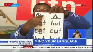 Mind your language: Nauseating