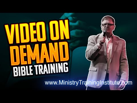 Ministry Training Institute - Tom Scarrella Ministries - YouTube