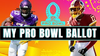 NFL Pro Bowl Voting 2021 | My 2021 NFL Pro Bowl Ballot