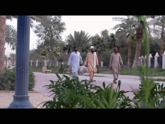 شاب سعودي يقلد مقلب حرب المخدات