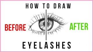 DOs & DONTs: How To Draw Eyelashes Step By Step For Beginners