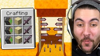 Testing Ancient Traps To See If They Work In Minecraft!