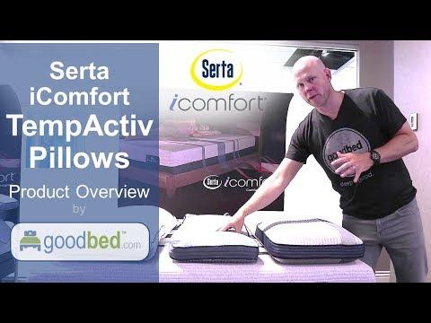 Serta iComfort TempActiv Pillows (VIDEO)
