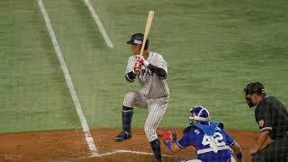 11.16プロ野球チャンピオンシップ20179回裏侍ジャパンが京田陽太の押し出し四球で同点に追いつく!球場の雰囲気やベンチの様子など