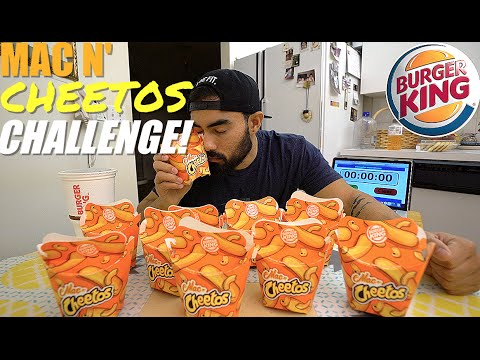 BURGER KING MAC N' CHEETOS CHALLENGE | 10 BOXES