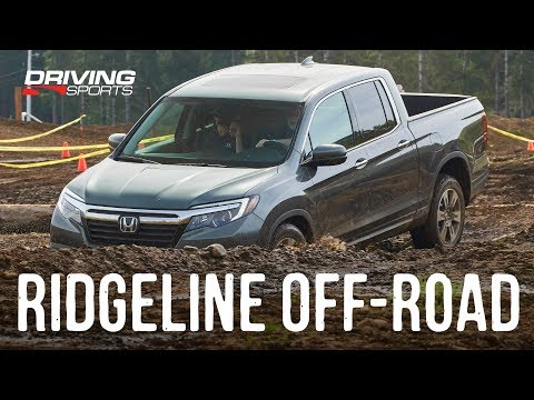 2019 Honda Ridgeline Off-Road Test