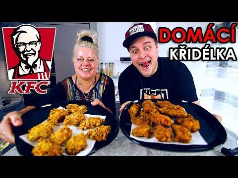 DOMÁCÍ KŘIDÉLKA JAKO Z KFC - VAŘÍME S MAMKOU