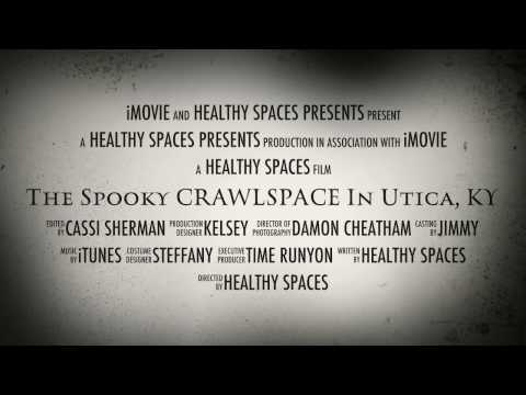 Just in time for Halloween, join us for a hair raising journey through a spooky crawlspace.