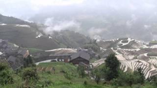 Video : China : The LongJi 龙脊 (Dragon's BackBone) rice terraces