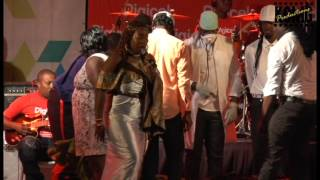 Shermaine McFarlene Calypso Monarch performance (2017 Carriacou Carnival)