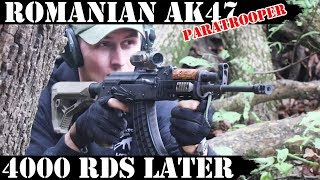 Romanian AK47: Paratrooper, 4000 Rounds Later! Paul is Back!