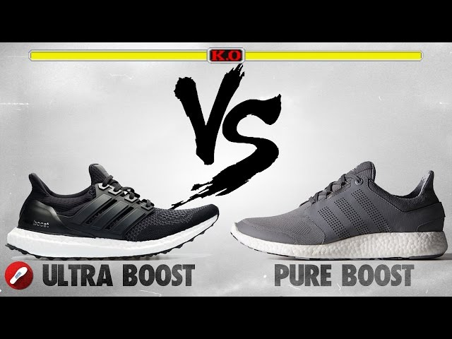 Adidas Ultra Boost Vs Pure Boost