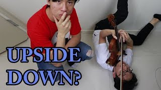 Play Violin Upside Down (Ling Ling Meme Meme Workout)