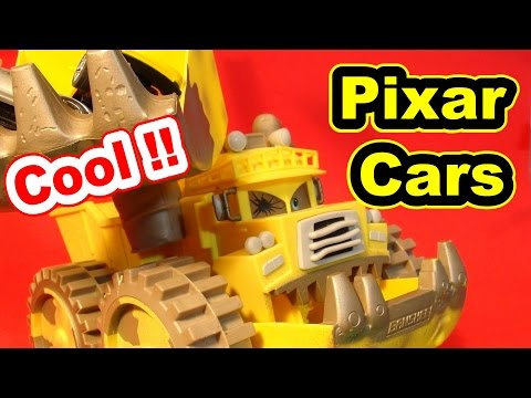 Disney Pixar Cars Screaming Banshee Catching Cars With His Bucket