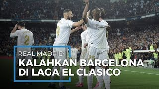 Tumbangkan Barcelona di Laga El Clasico, Real Madrid Geser Barcelona dari Puncak Klasemen