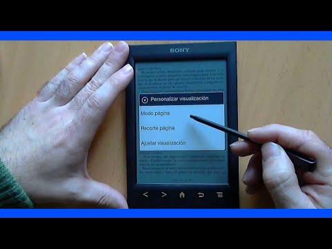 Revisión ereader Sony PRS-T2