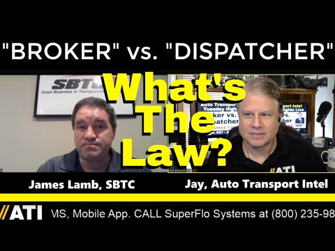 Tell The Dispatchers. Need A Broker's License? Broker vs ...