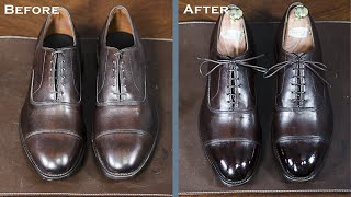 How To Shine A New Pair of Allen Edmonds Dress Shoes